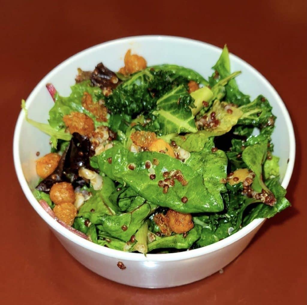 vegan seasonal salad Chef Mickeys
