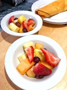 Cape May Cafe breakfast fruit