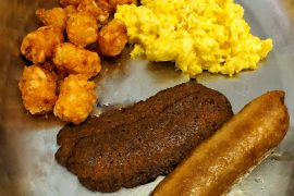 Cape May Cafe vegan breakfast platter