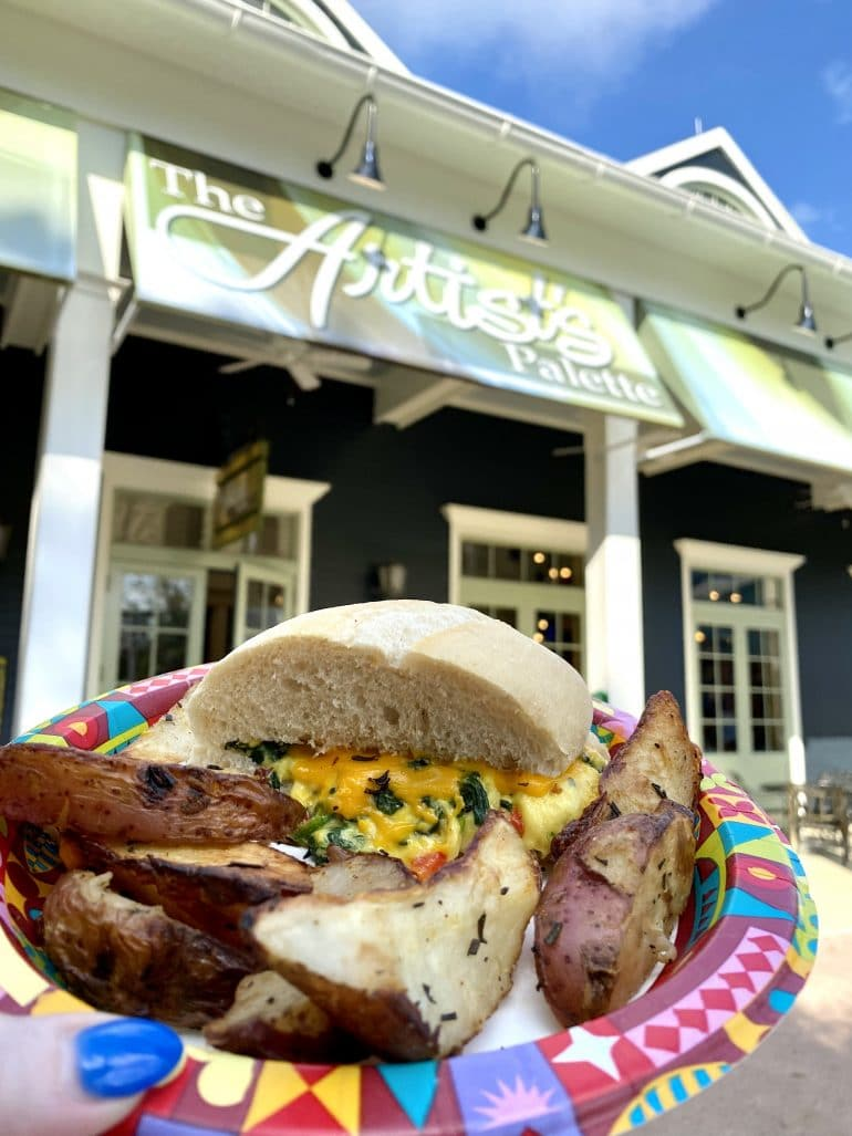 Harvest Breakfast Sandwich Saratoga Springs