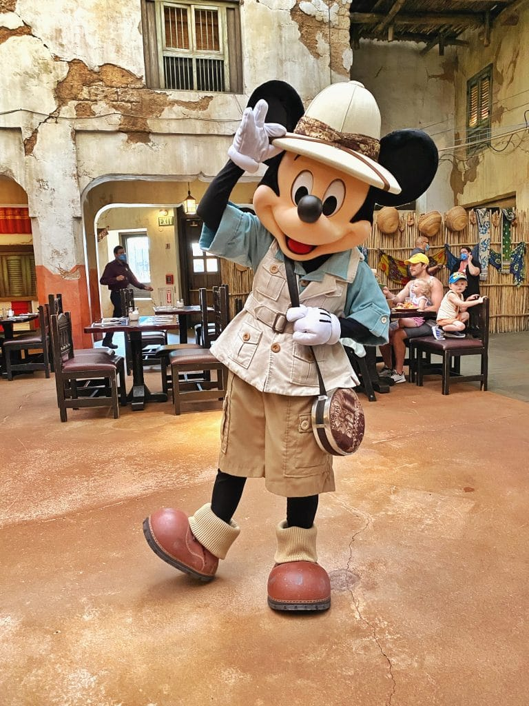 Tusker House Mickey