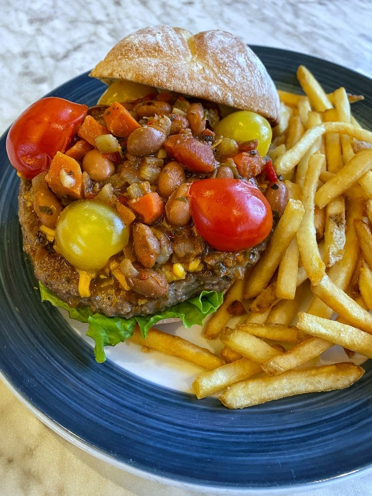 chili impossible burger plaza restaurant