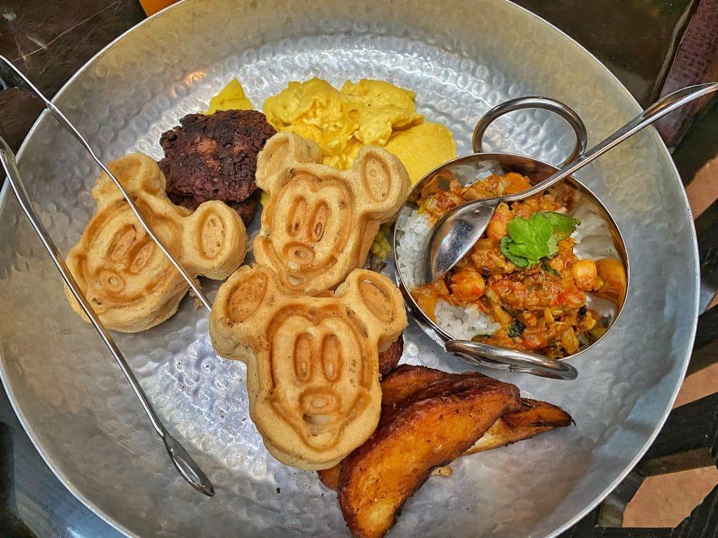 Vegan breakfast Tusker House