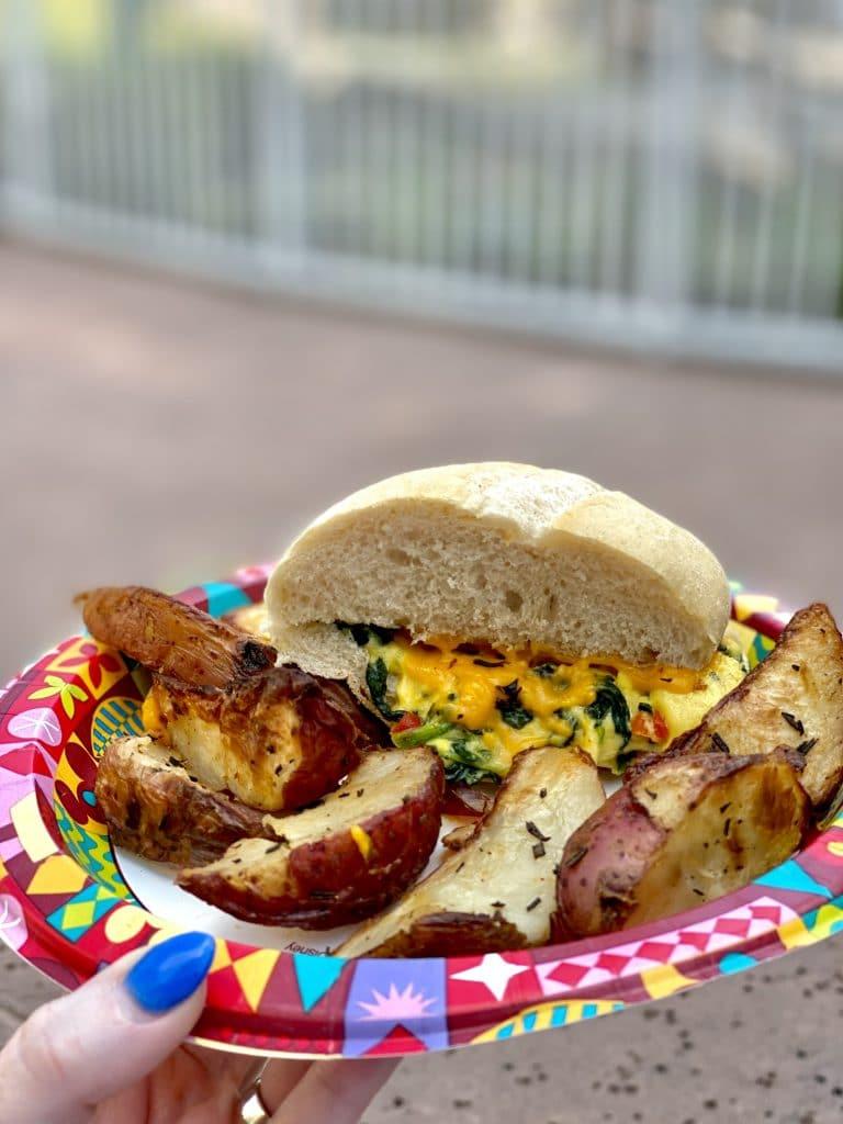 Vegan Harvest Breakfast Sandwich Saratoga Springs