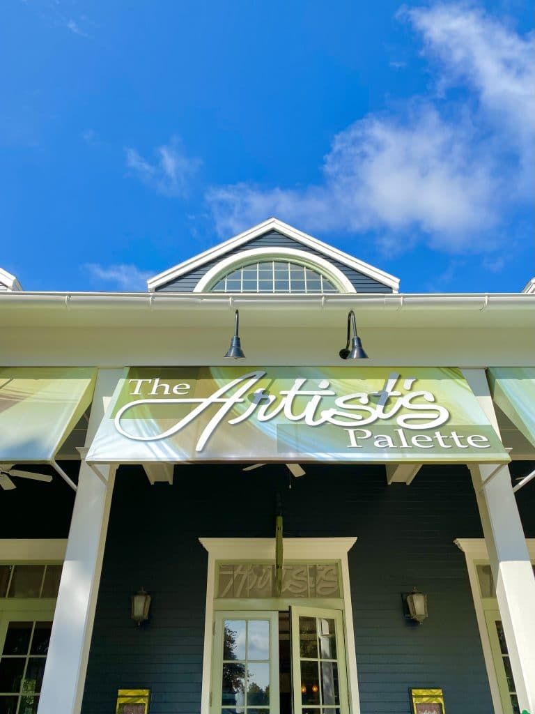 Artist's Palette Disney's Saratoga Springs