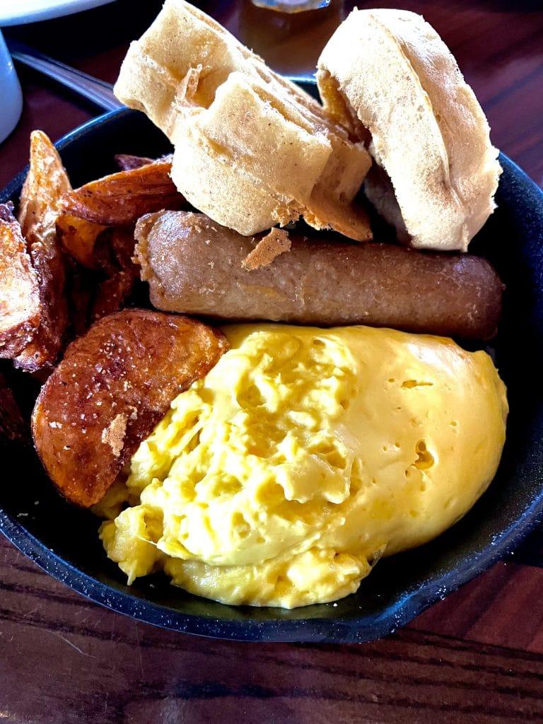 Vegan Breakfast Skillet at Ohana in Disney's Polynesian Village Resort at Walt Disney World