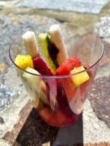 vegan fruit cup Ronto Roasters