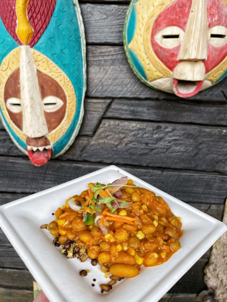 Vegan Spicy Githeri at the 2021 Epcot Food and Wine Festival