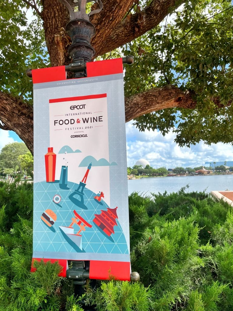 Vegan Options at the 2021 Epcot Food and Wine Festival