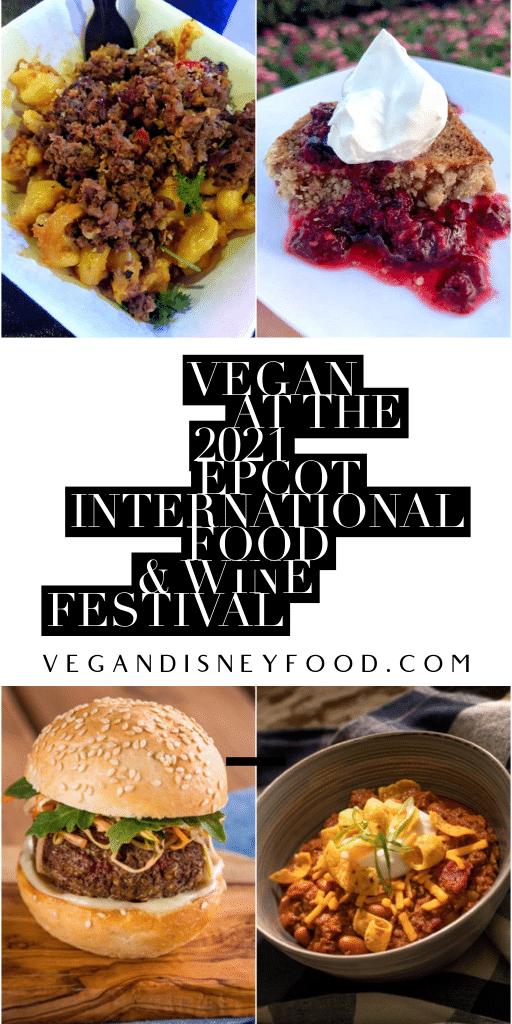 Vegan 2021 Epcot Food and Wine pin