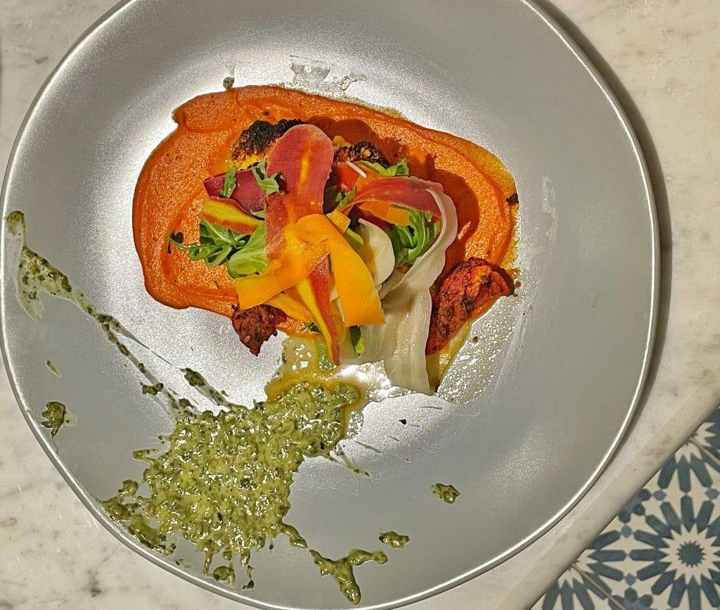 Brick Oven Cauliflower Toledo vegan