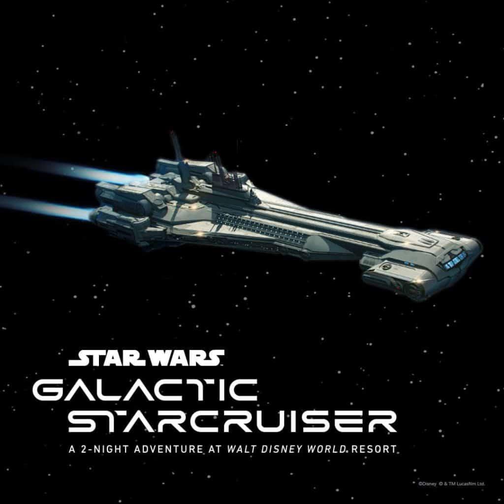 Star Wars Galactic StarCruiser vegan