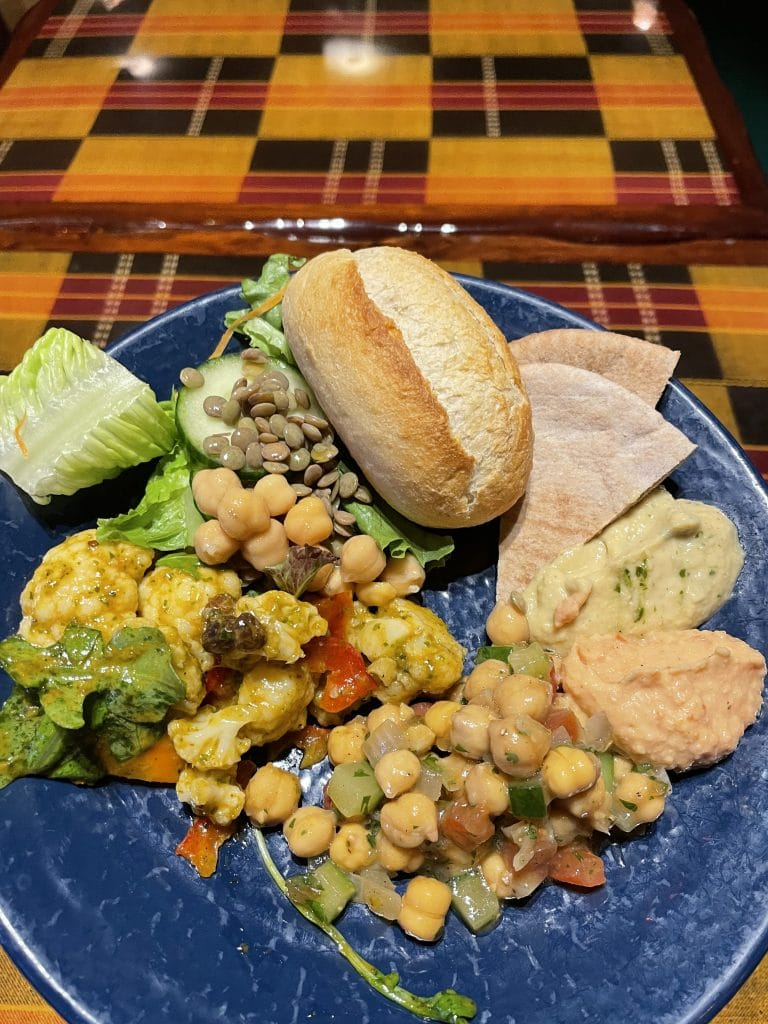 vegan Boma dinner