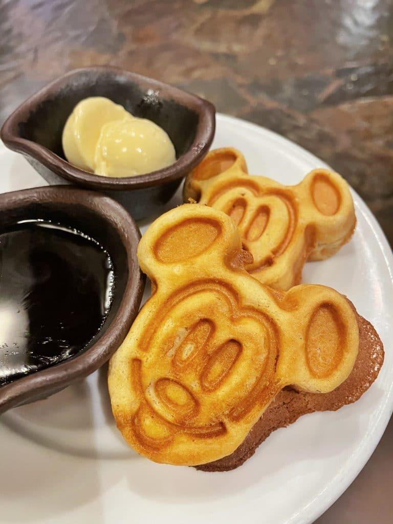 vegan Mickey Waffles Boma