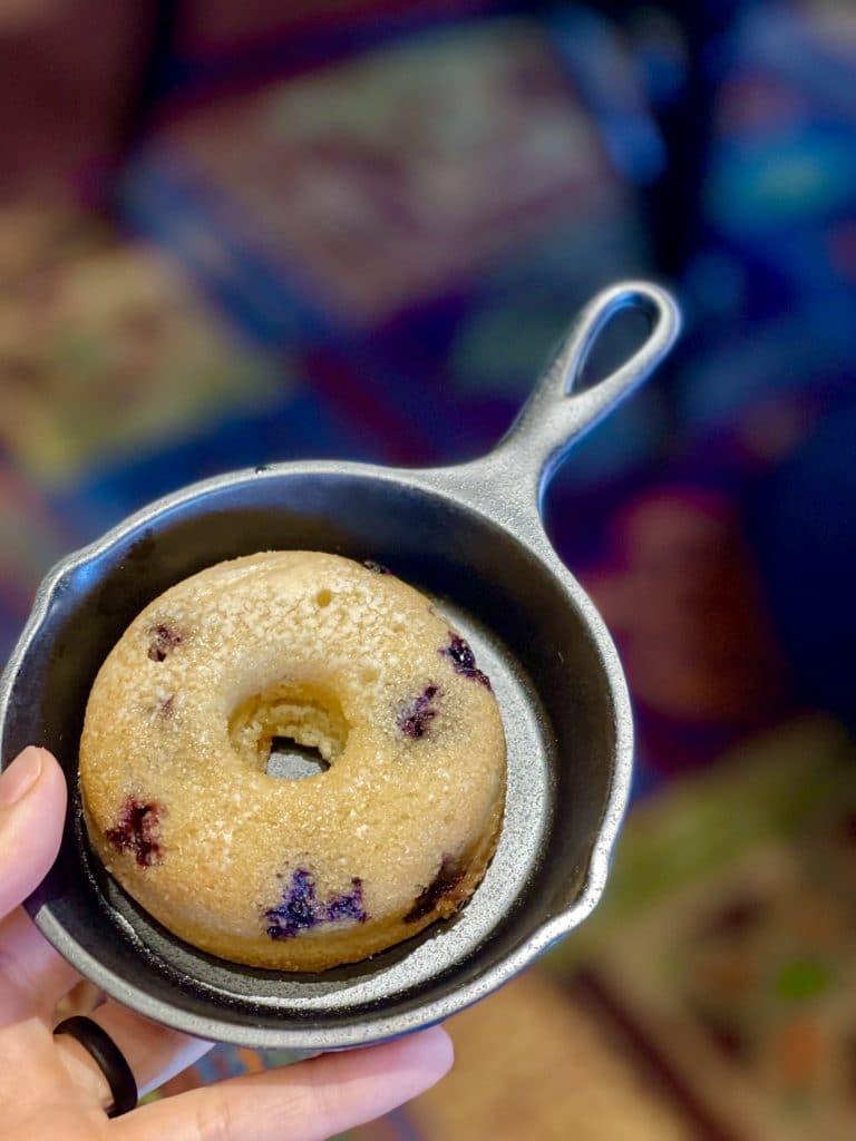 Erin McKenna's blueberry donut 'Oha