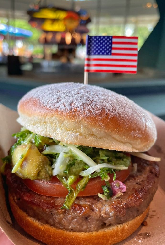 Moon Burger vegan Disney World 50