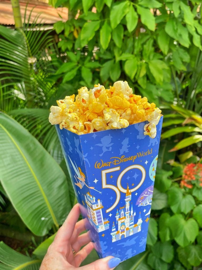 Pineapple Coconut Glazed popcorn Disney world 50