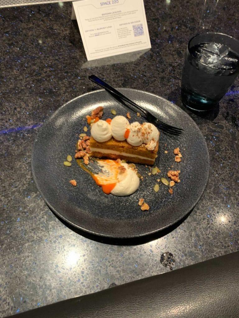 Space-220 vegan dessert