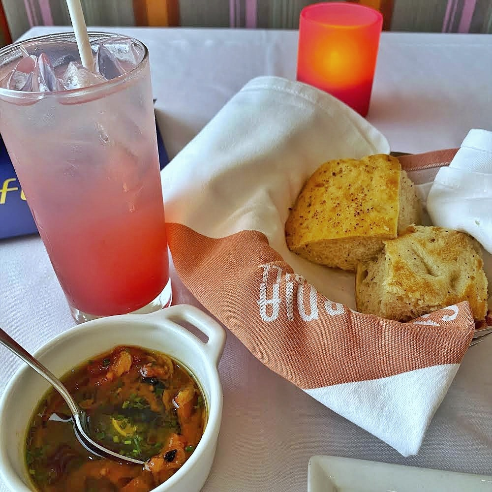 Vegan Menu California Grill WDW 50th anniversary bread service