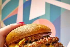 vegan Steakhouse 71 Stack Burger