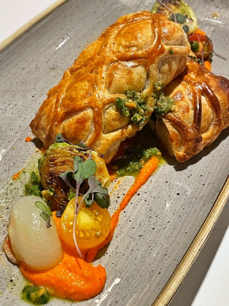 Vegan Vegetable Wellington Steakhouse 71